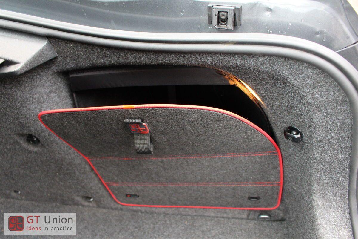 ящик в багажник skoda